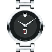 Davidson College Women's Movado Museum with Steel Bracelet