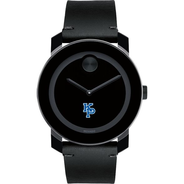 US Merchant Marine Academy Men's Movado BOLD with Leather Strap - Image 2
