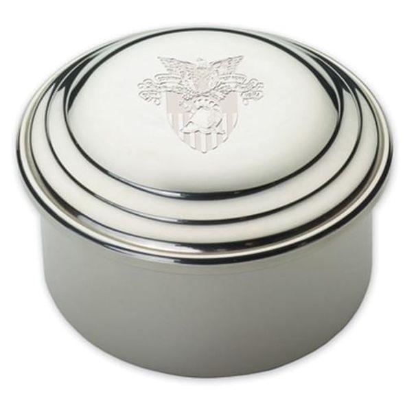 West Point Pewter Keepsake Box - Image 1