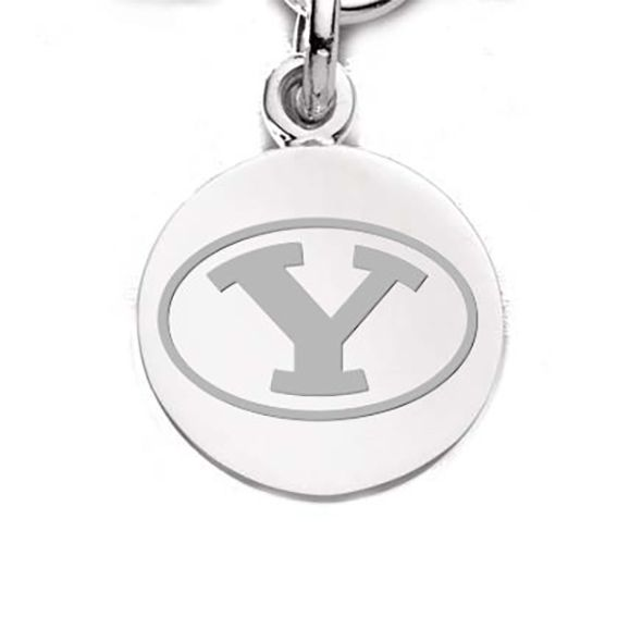 Brigham Young University Sterling Silver Charm