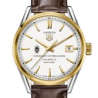 Wisconsin Men's TAG Heuer Two-Tone Carrera with Strap