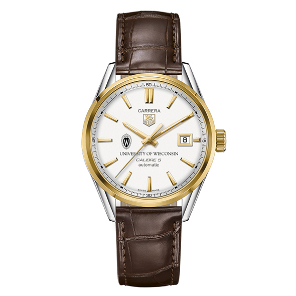 Wisconsin Men's TAG Heuer Two-Tone Carrera with Strap - Image 2