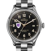 Holy Cross Shinola Watch, The Vinton 38mm Black Dial