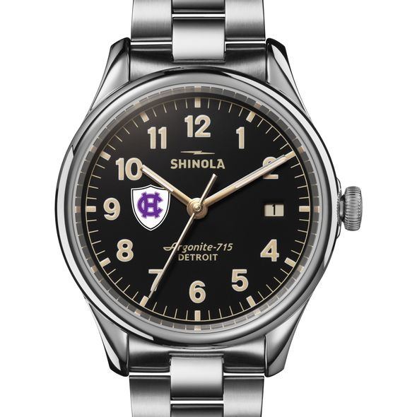 Holy Cross Shinola Watch, The Vinton 38mm Black Dial - Image 1