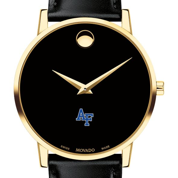 Air Force Academy Men's Movado Gold Museum Classic Leather - Image 1