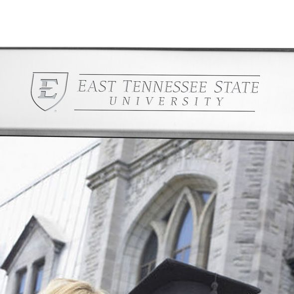 East Tennessee State University Polished Pewter 8x10 Picture Frame - Image 2