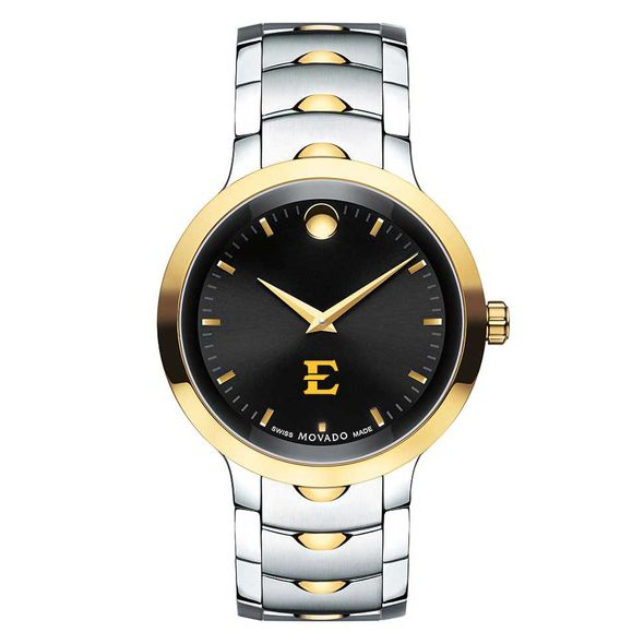 East Tennessee State University Men's Movado Luno Sport Two-Tone - Image 2