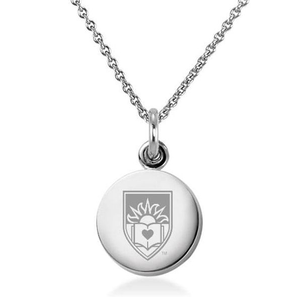 Lehigh University Necklace with Charm in Sterling Silver