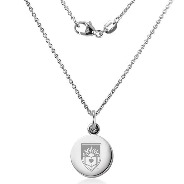 Lehigh University Necklace with Charm in Sterling Silver - Image 2