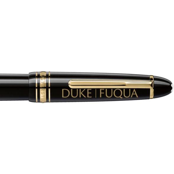 Duke Fuqua Montblanc Meisterstück LeGrand Rollerball Pen in Gold - Image 2