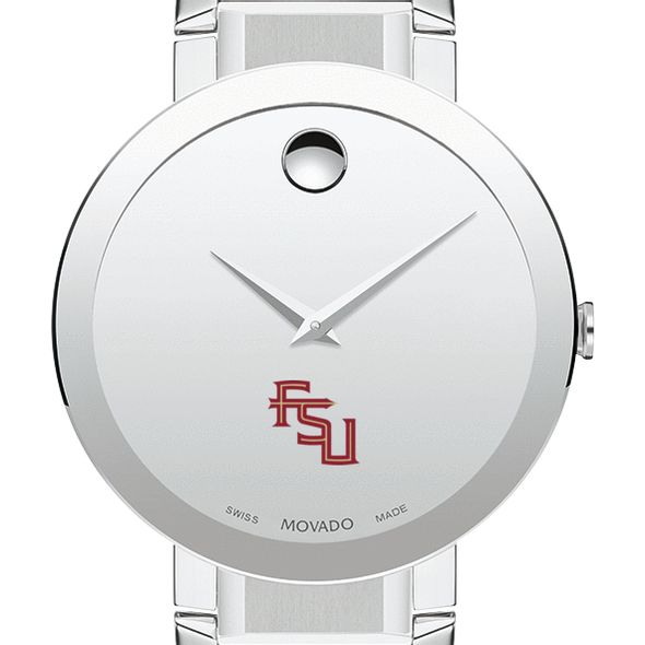 Florida State University Men's Movado Sapphire Museum with Bracelet