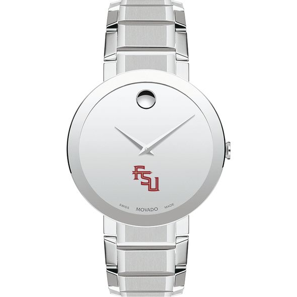 Florida State University Men's Movado Sapphire Museum with Bracelet - Image 2