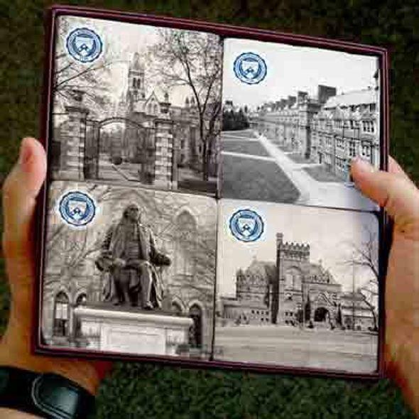Penn Campus Marble Coasters