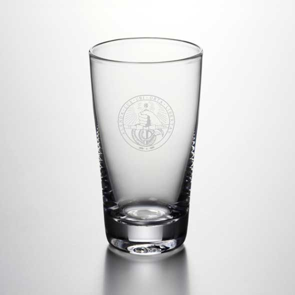 Davidson College Ascutney Pint Glass by Simon Pearce