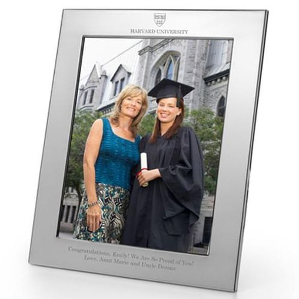 Harvard Polished Pewter 8x10 Picture Frame - Image 1