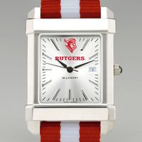 Rutgers University Collegiate Watch with NATO Strap for Men