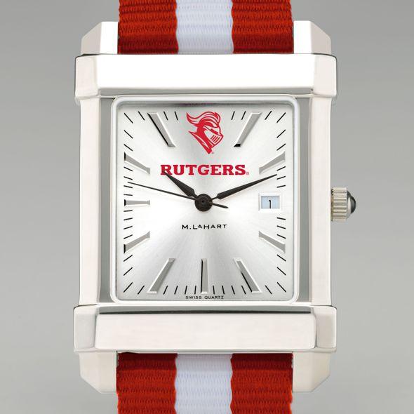 Rutgers University Collegiate Watch with NATO Strap for Men