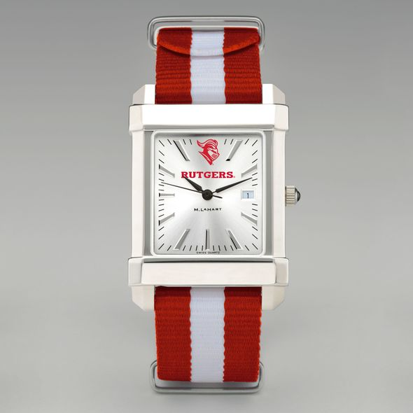 Rutgers University Collegiate Watch with NATO Strap for Men - Image 2