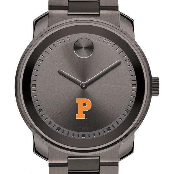Princeton University Men's Movado BOLD Gunmetal Grey