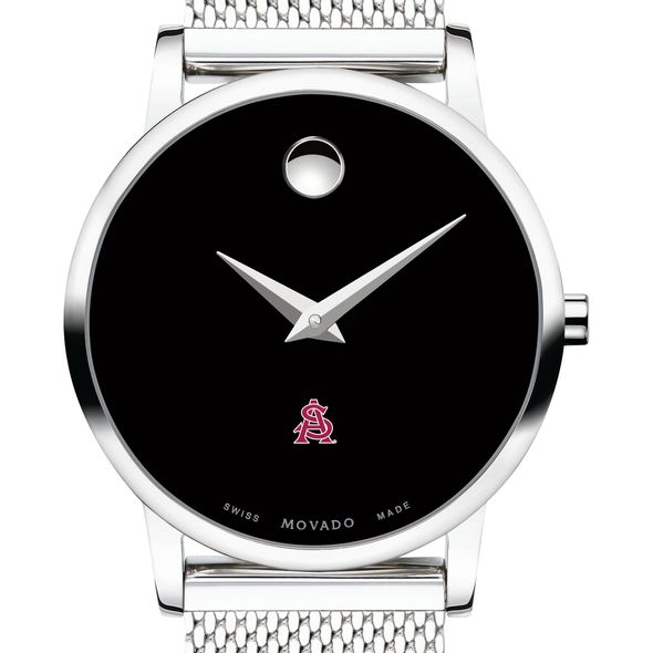 Arizona State Women's Movado Museum with Mesh Bracelet - Image 1