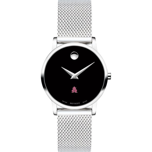 Arizona State Women's Movado Museum with Mesh Bracelet - Image 2