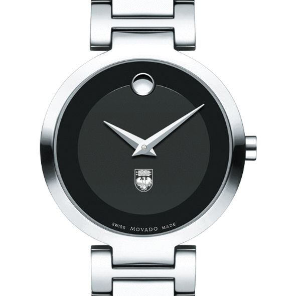 University of Chicago Women's Movado Museum with Steel Bracelet