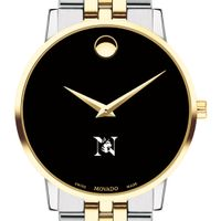 Northeastern Men's Movado Two-Tone Museum Classic Bracelet