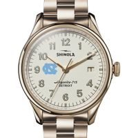 UNC Shinola Watch, The Vinton 38mm Ivory Dial
