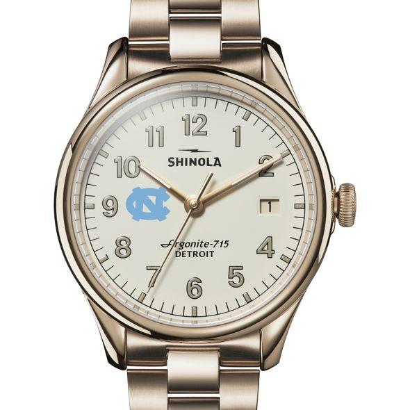 UNC Shinola Watch, The Vinton 38mm Ivory Dial
