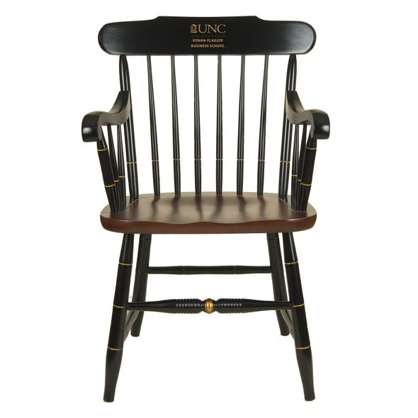 UNC Kenan-Flagler Captain's Chair by Hitchcock
