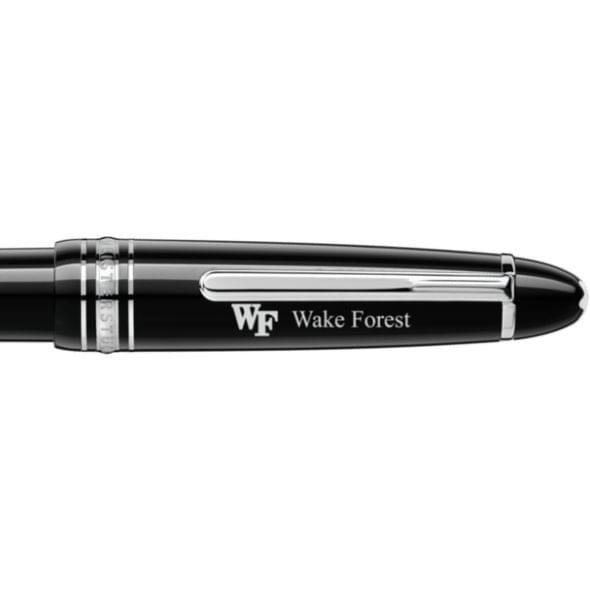 Wake Forest Montblanc Meisterstück LeGrand Ballpoint Pen in Platinum - Image 2