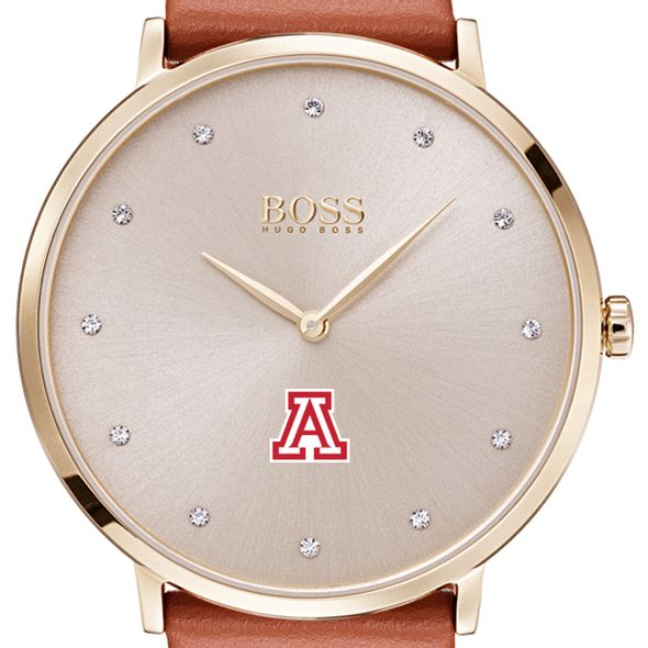 University of Arizona Women's BOSS Champagne with Leather from M.LaHart