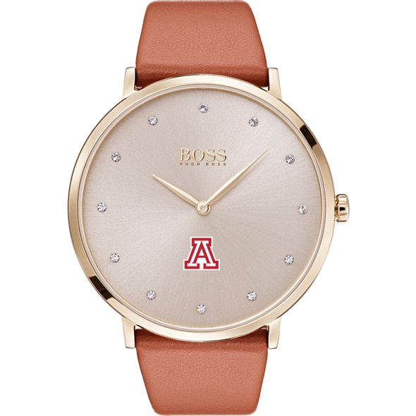 University of Arizona Women's BOSS Champagne with Leather from M.LaHart - Image 2
