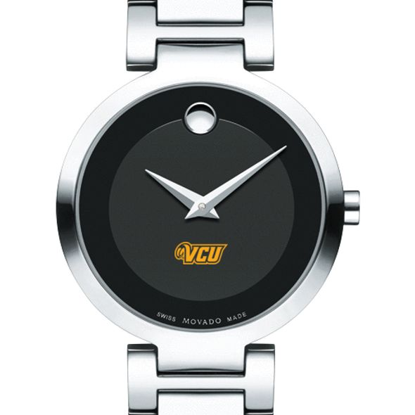 Virginia Commonwealth University Women's Movado Museum with Steel Bracelet