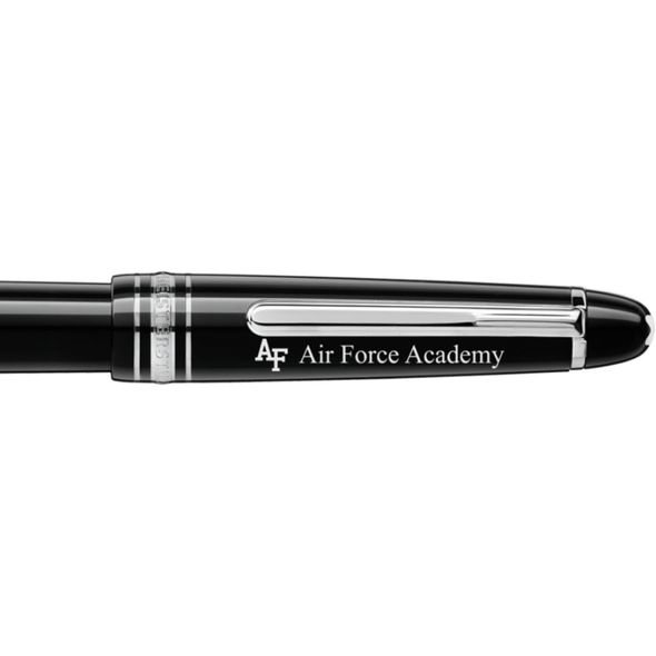 US Air Force Academy Montblanc Meisterstück Classique Fountain Pen in Platinum - Image 2