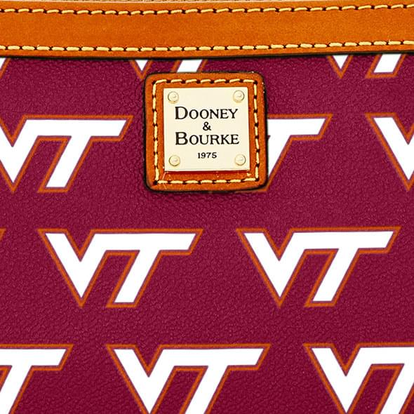 Virginia Tech  Dooney & Bourke Large Slim Wristlet - Image 2