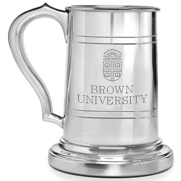 Brown Pewter Stein - Image 2