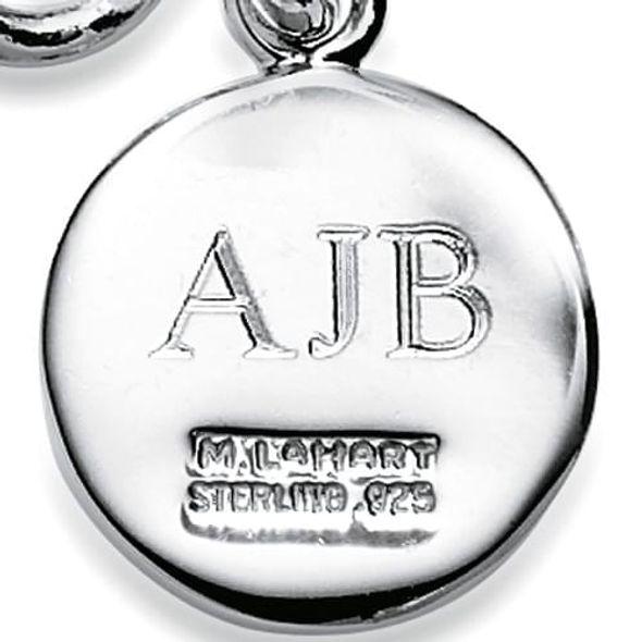 Michigan State Sterling Silver Charm Bracelet - Image 3