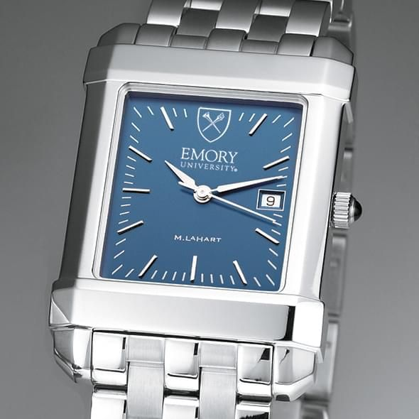 Emory Men's Blue Quad Watch with Bracelet