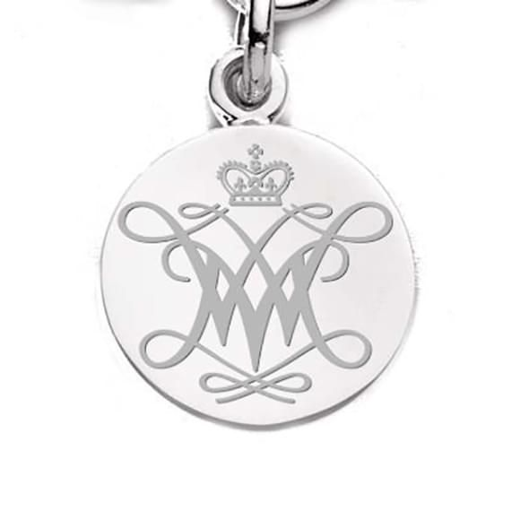 W&M Sterling Silver Charm