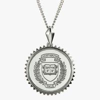 Yale Sterling Silver Sunburst Necklace by Kyle Cavan