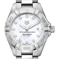 Columbia Business Women's TAG Heuer Steel Aquaracer with MOP Diamond Dial