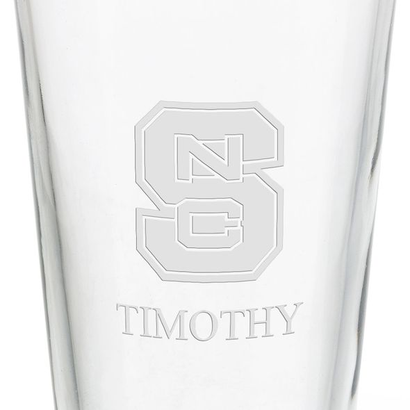 North Carolina State 16 oz Pint Glass - Image 3