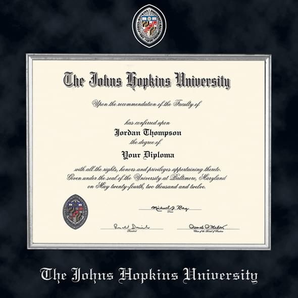 Johns Hopkins Excelsior Diploma Frame - Image 2