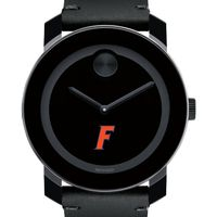 University of Florida Men's Movado BOLD with Leather Strap