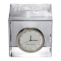 Fordham Glass Desk Clock by Simon Pearce