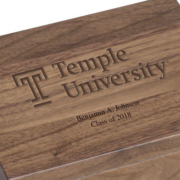 Temple Solid Walnut Desk Box - Image 3