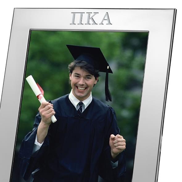 Pi Kappa Alpha Polished Pewter 8x10 Picture Frame - Image 2