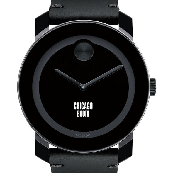 Chicago Booth Men's Movado BOLD with Leather Strap - Image 1