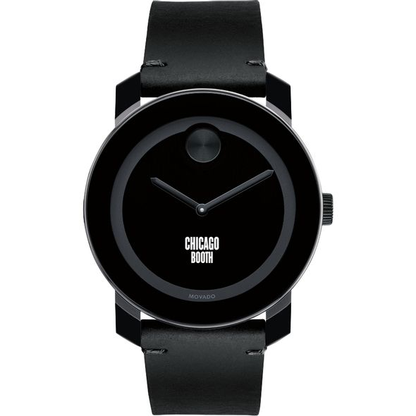 Chicago Booth Men's Movado BOLD with Leather Strap - Image 2